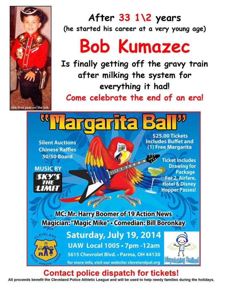 Margarita Ball Flyer
