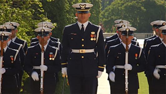 Coast Guard Drill Team