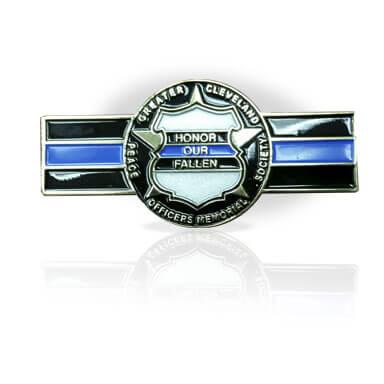 Police Memorial Society Honor Our Fallen Bar Pin