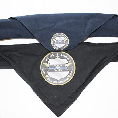 Police Memorial Society Logo Bandana