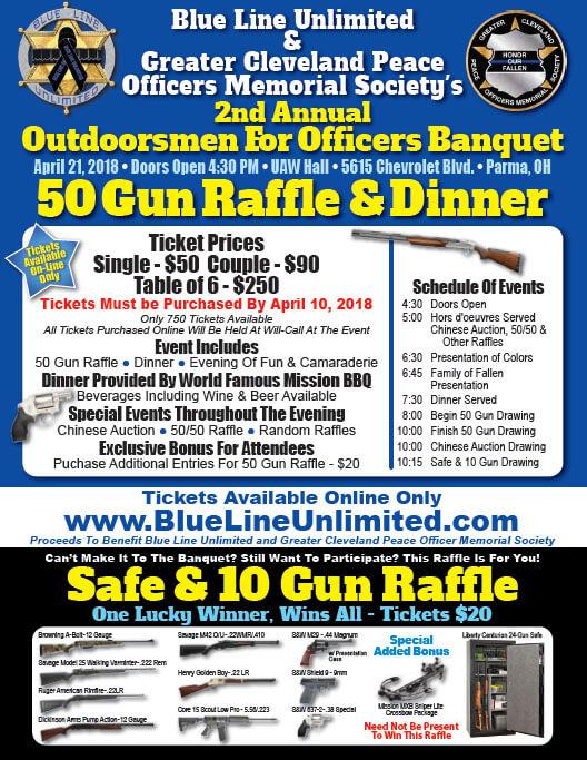 Blue Line banquet