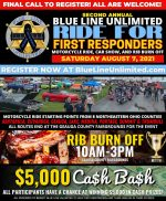 2021 Ride for First Responders
