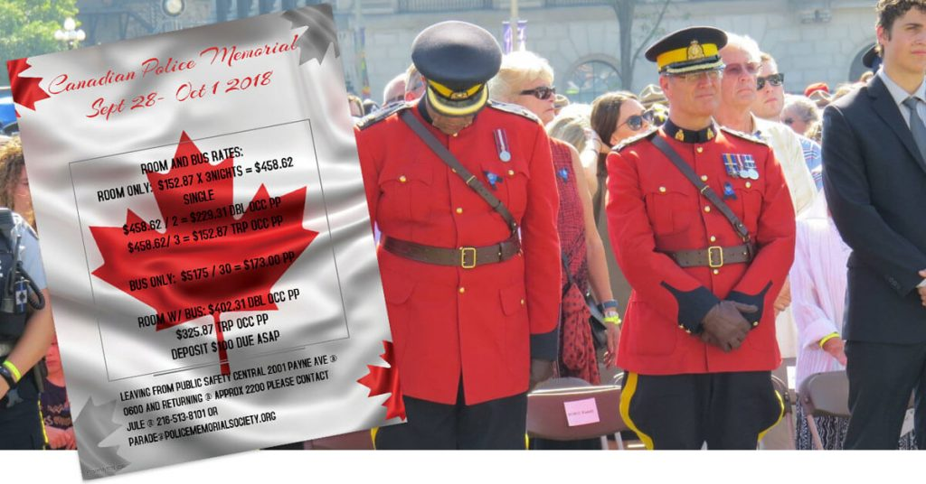 canadian memorial event page header