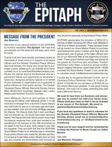 cover of sept-oct newsletter for GCPOMS