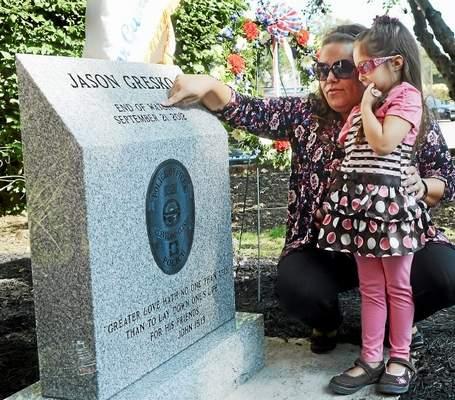 Jason Gresko Monument