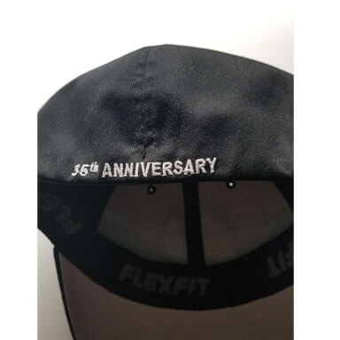 limited edition 35th anniversary hat - back