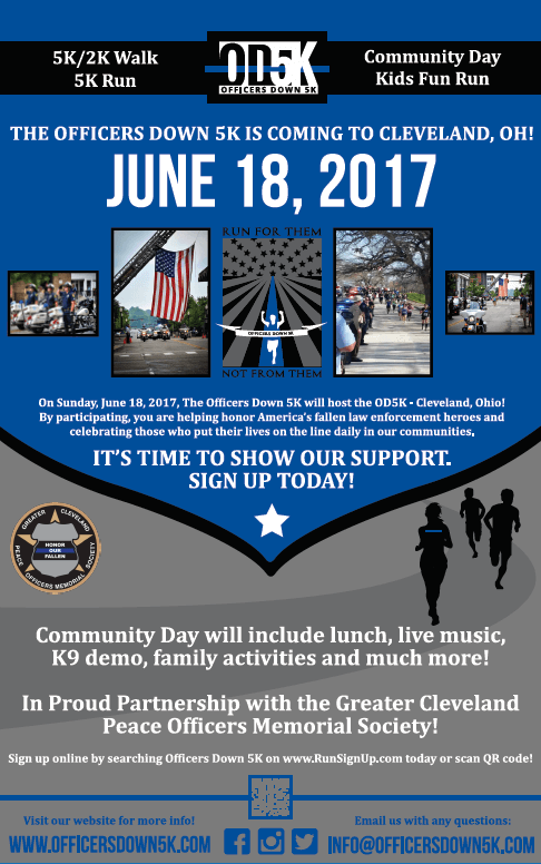 Officers Down 5K - June 18, 2017