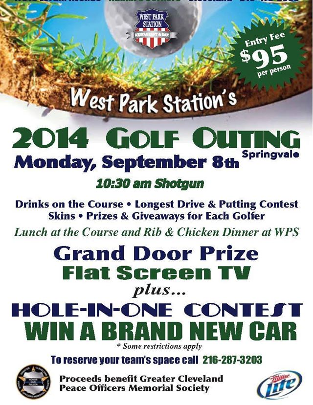 West Park Golf Outing Benefit